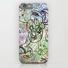 Anymanimals+Whatlifethrowsatyou    Nonrandom-art1 Slim Case iPhone 6s