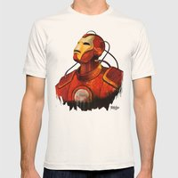 Iron Mens Fitted Tee Natural SMALL