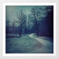 COLD PATH Art Print