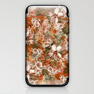 Tropical Orange iPhone & iPod Skin