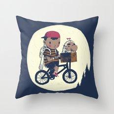 N.T. Throw Pillow