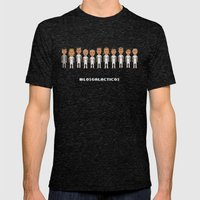 Los Galacticos Mens Fitted Tee Tri-Black SMALL