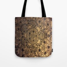 Mandala in Gold Tote Bag