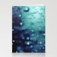 Bubbles Macro Stationery Cards