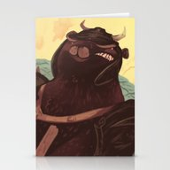 Stationery Cards featuring Ye Olde Smokey by Logan  Faerber