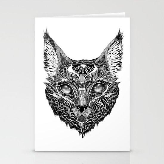 Lynx Stationery Card