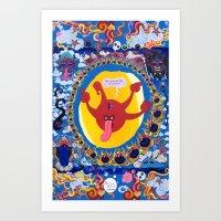 Irrevence Mandala Art Print