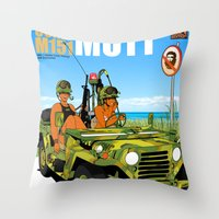 Marine Corps Honeys - Camo Edition Throw Pillow