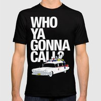Ghostbusters Mens Fitted Tee Black SMALL