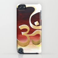 iPod Touch Cases featuring Om Namah Shivaya by Charlotte hills