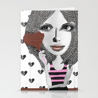 Forget LOVE... I'd rather fall in CHOCOLATE Stationery Cards