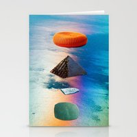 pyramid stack Stationery Cards