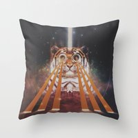 Tiger Wow Throw Pillow