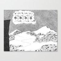 Big Picture, Small Picture Canvas Print