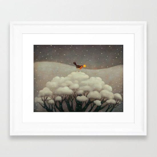 Lost Star Framed Art Print