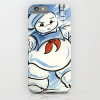 iPhone & iPod Case featuring Stay Puft by JoJo Seames