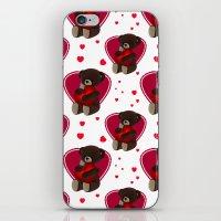 Love And Romance Teddy B… iPhone & iPod Skin