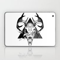 Deer Skull Laptop & iPad Skin