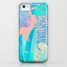 Tropics ( monstera and banana leaf pattern ) iPhone 5c Slim Case