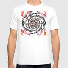 SPARSA Mens Fitted Tee White SMALL