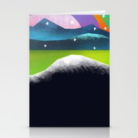 Starry Day Stationery Cards