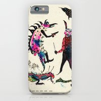 iPhone & iPod Case featuring Aquassassins by Franck Chartron