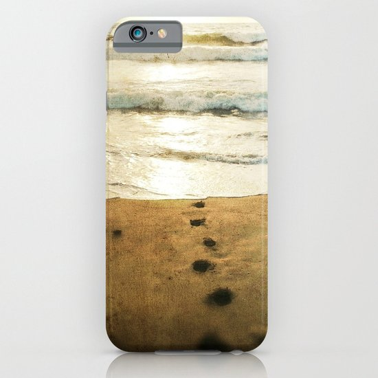 Tracks Into the Sea iPhone & iPod Case