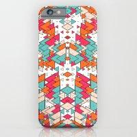Chaotic Triangle Balance iPhone 6 Slim Case