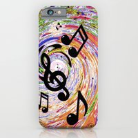 Music Notes iPhone 6 Slim Case