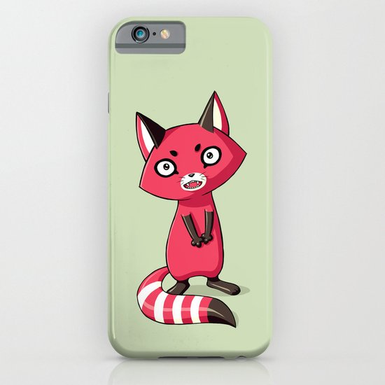 Shy Raccoon iPhone & iPod Case