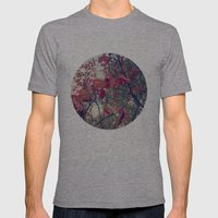 Colours of nature Mens Fitted Tee Athletic Grey SMALL