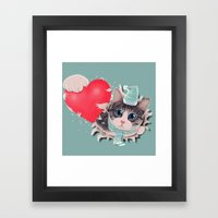 Steal Heart Framed Art Print