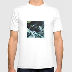 Drowning Mens Fitted Tee SMALL White