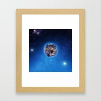 Mostly Harmless Framed Art Print