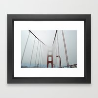 San Francisco Fog Framed Art Print