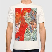 Likin' This Lichen Mens Fitted Tee Natural SMALL