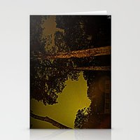Blackened October Sunfall Stationery Cards