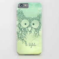 iPhone & iPod Case featuring The Babybirds Owl 02 by The Babybirds