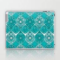 Laptop & iPad Skin featuring Saffreya Turquoise by Sharon Turner