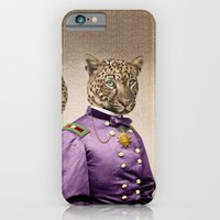 iPhone & iPod Case featuring Grand Viceroy Leopold Leopard by Peter Gross