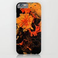 iPhone & iPod Case featuring Pollination Dark Fire by nicebleed