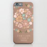 Plant a Garden iPhone 6 Slim Case