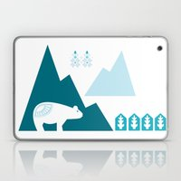Heart The Polar Bear Laptop & iPad Skin
