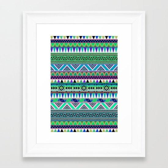 OVERDOSE|ESODREVO Framed Art Print