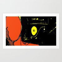 The Universe Over My Sho… Art Print