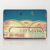 CandyLand ~ vintage-feel carnival iPad Case