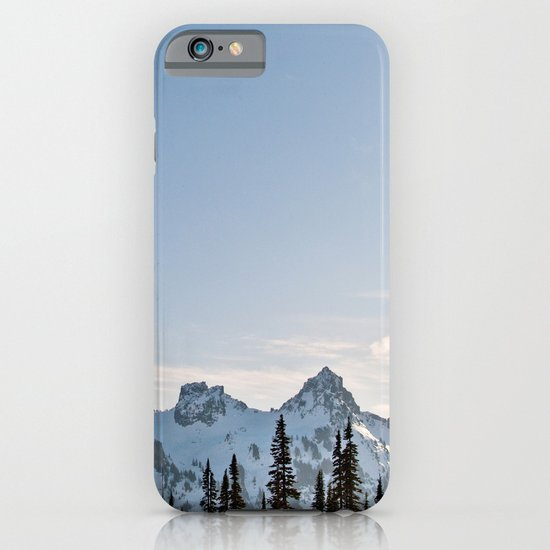 Mountain Ridge in the Sun iPhone & iPod Case