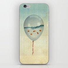 BALLOON FISH-2 iPhone & iPod Skin