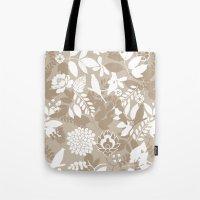 Rising spring - Nude Tote Bag