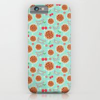 iPhone & iPod Case featuring Oh My, Cherry Pie! by Art Tree Designs